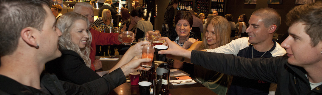 Catch up with friends and family at The Bunker